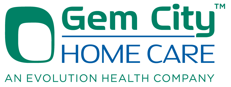 logo for Gem City Home Care logo