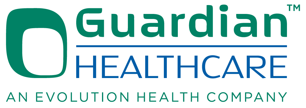 logo for Guardian Health Care logo